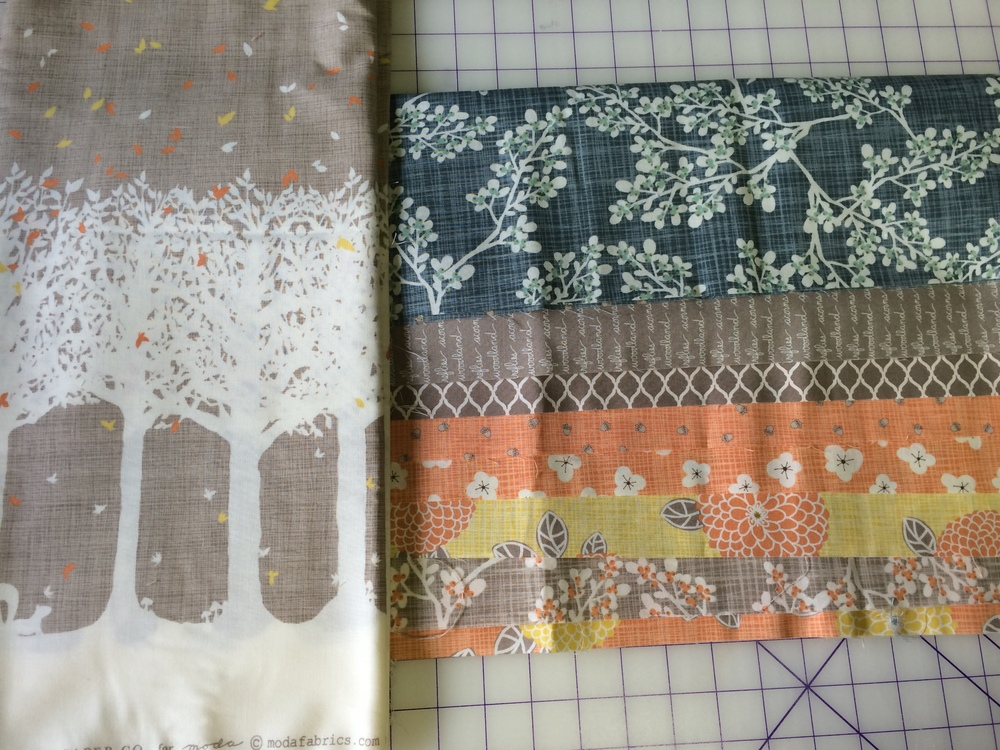 Autumn Woods Collection by Kate and Birdie for Moda Fabrics
