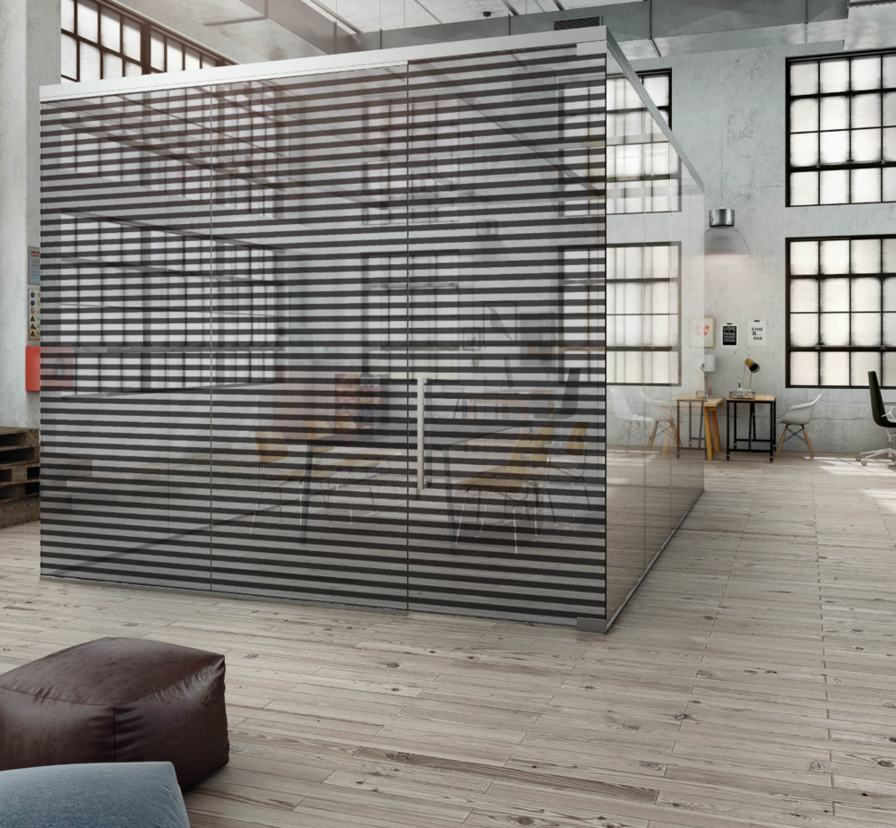 Visualisation -  Glass Office Box