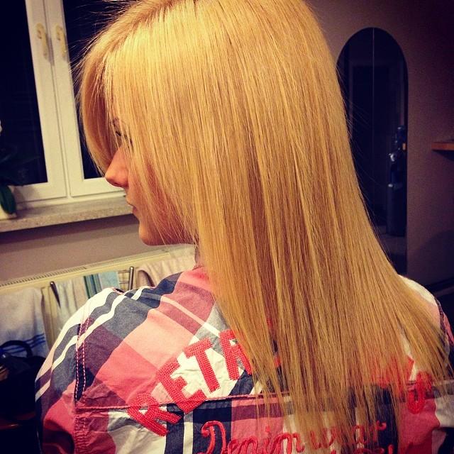 Włosy po zabiegu keratynowym