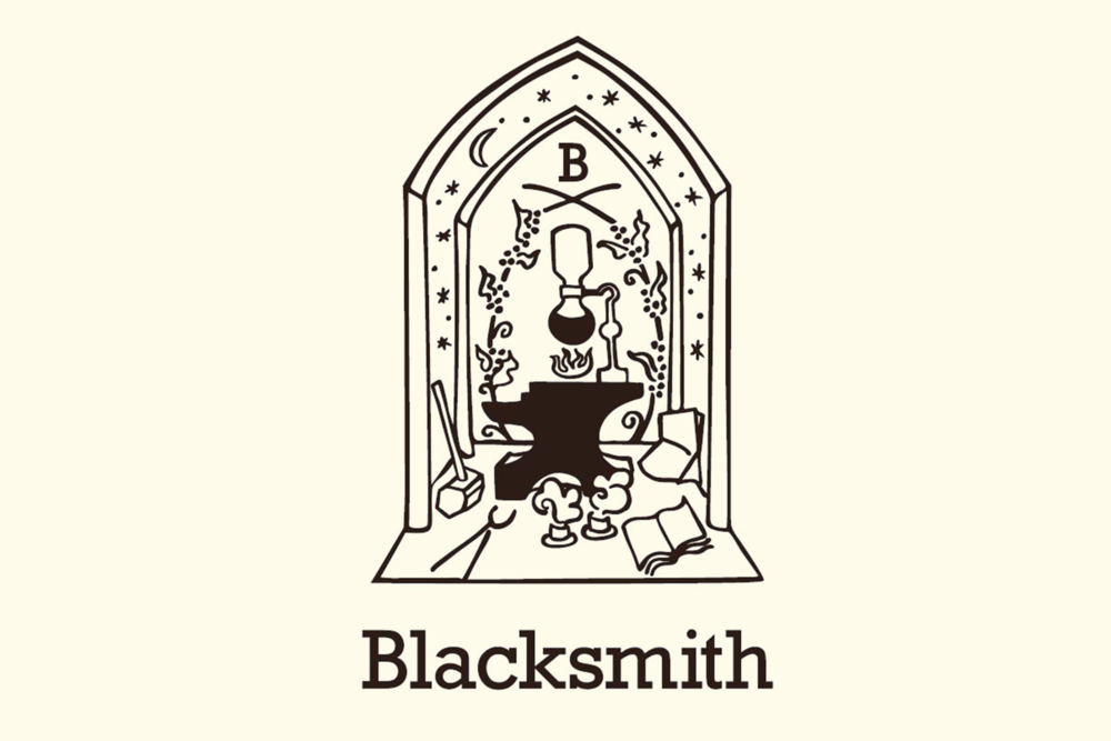 Blacksmith Coffee Studios Identity
