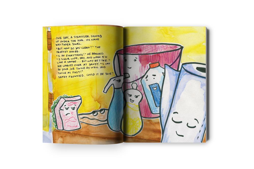 Kitchen Race Children's Book