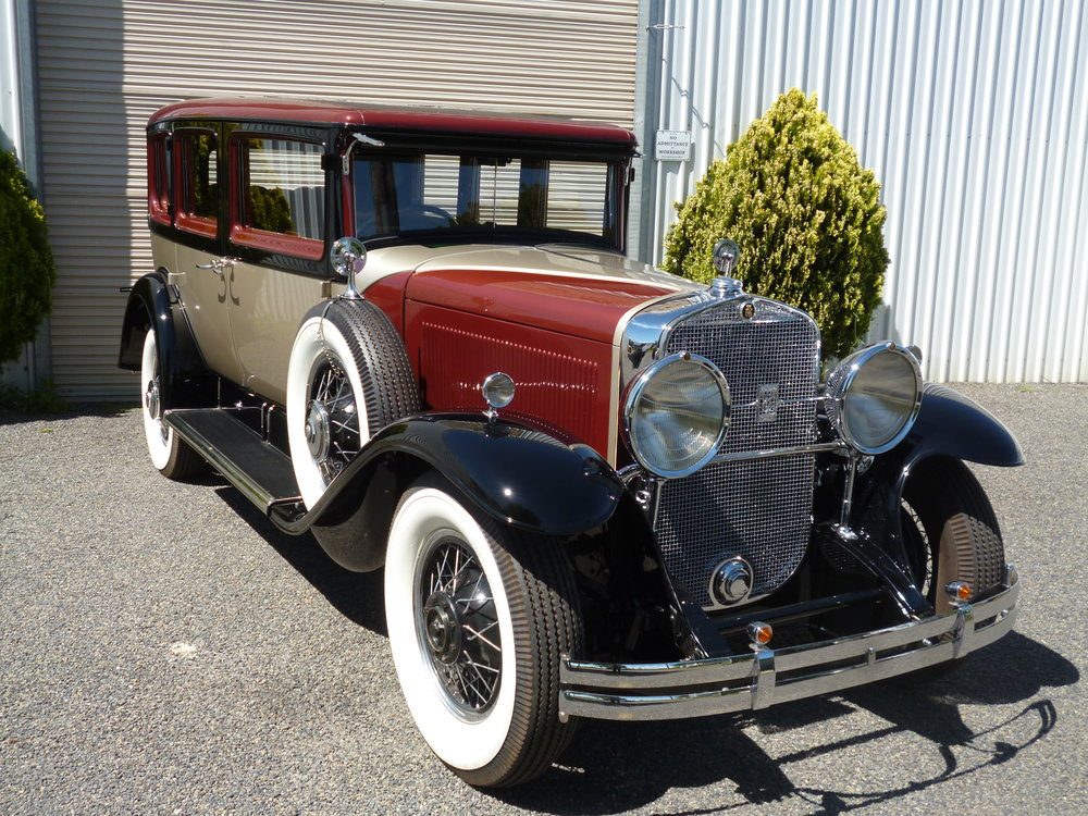 The Cadillac has been a long term restoration. The vehicle was purchased in pieces and was made up of many different 1930 Cadillac components including V8 and V16 parts. Over the years the owners of the Cadillac have sourced the required parts to make the Cadillac complete.