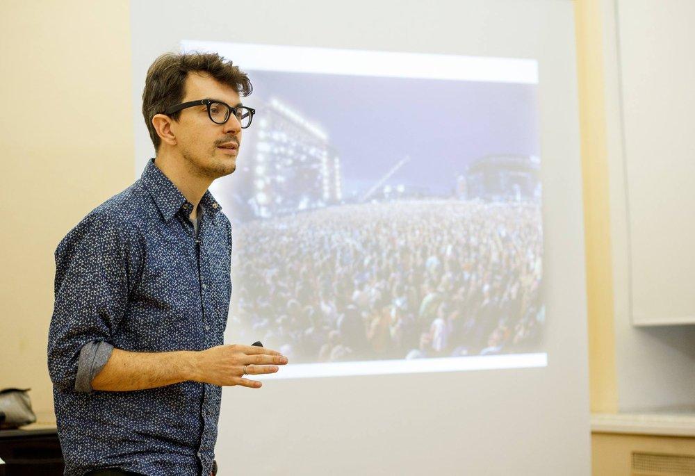 Курс «Фестивальный менеджмент: как организовать успешный фестиваль в России»