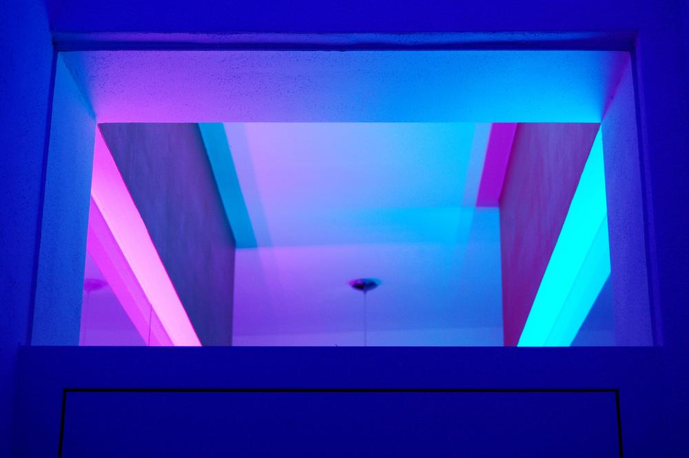 Lichtstimmung: Durchsicht Tür-Oberlichte