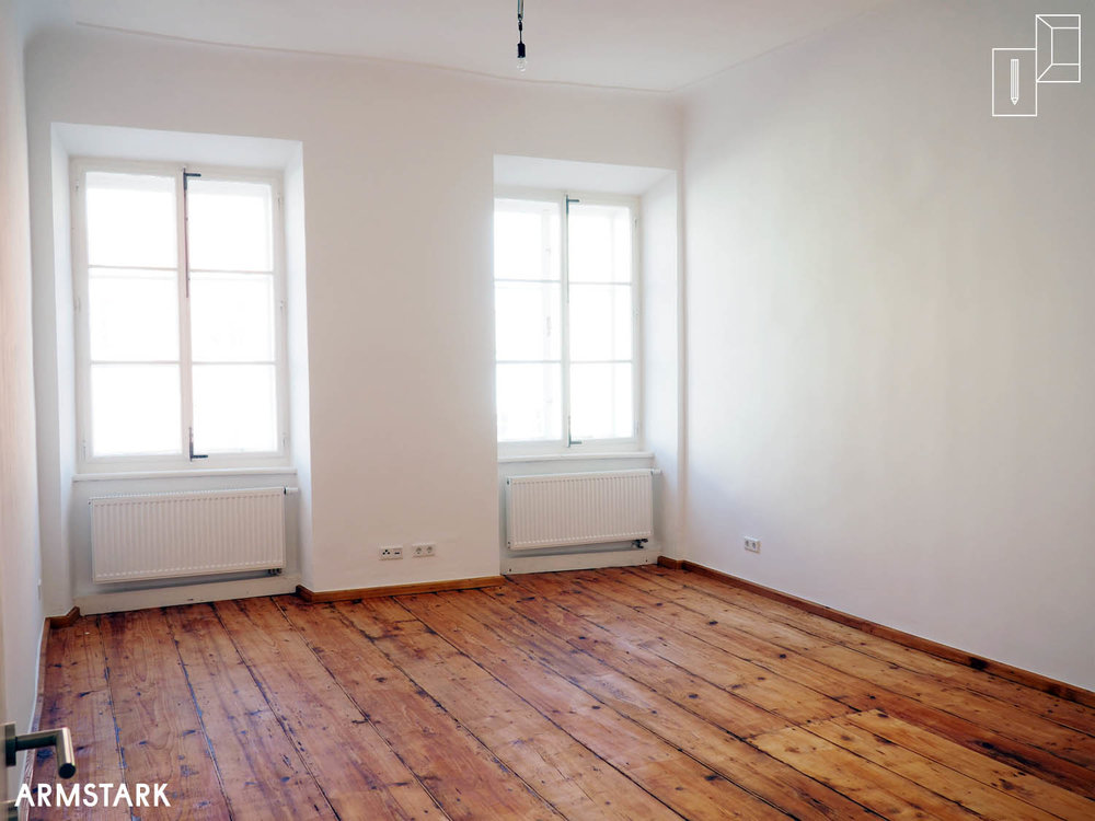 Projekt Altbausanierung, Schlafzimmer/Wohnraum