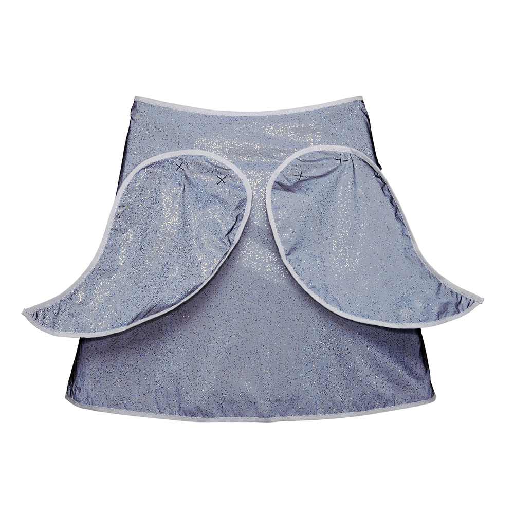 Limited Edition- Glitter Angel Wings Cape for kids- back view - day