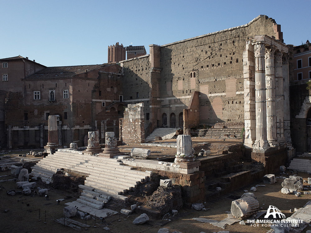 Copy of Forum of Augustus, Rome, Italy