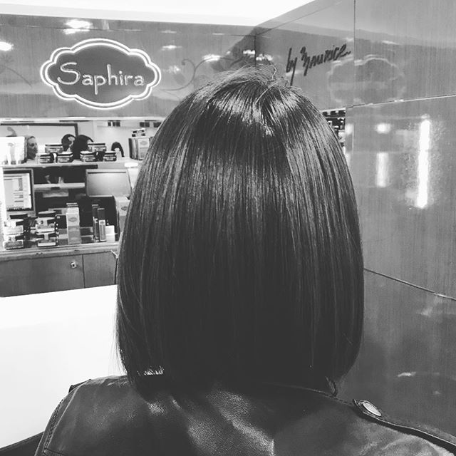 The Perfect Cut at the Saphira Salon #hairstyles #saphirahaircare #hairsalon #beauty #loveyourself