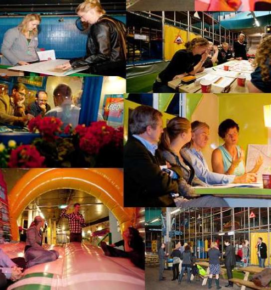 Impressies van het flexival in ondergronds speelparadijs TunFun in Amsterdam.