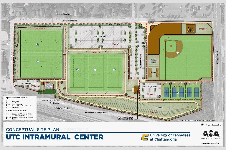 Utc Intramural Sports Complex  Asa Engineering  Asa Engineering