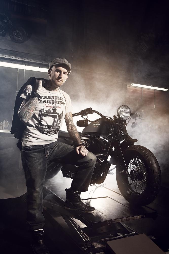 Ben Saunders voor Harley Davidson   © Jasper Suyk Photography