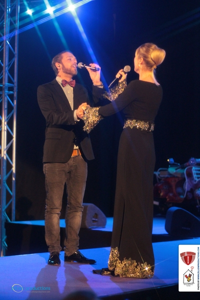 Joke de Kruijf in duet met Tommie Christiaan