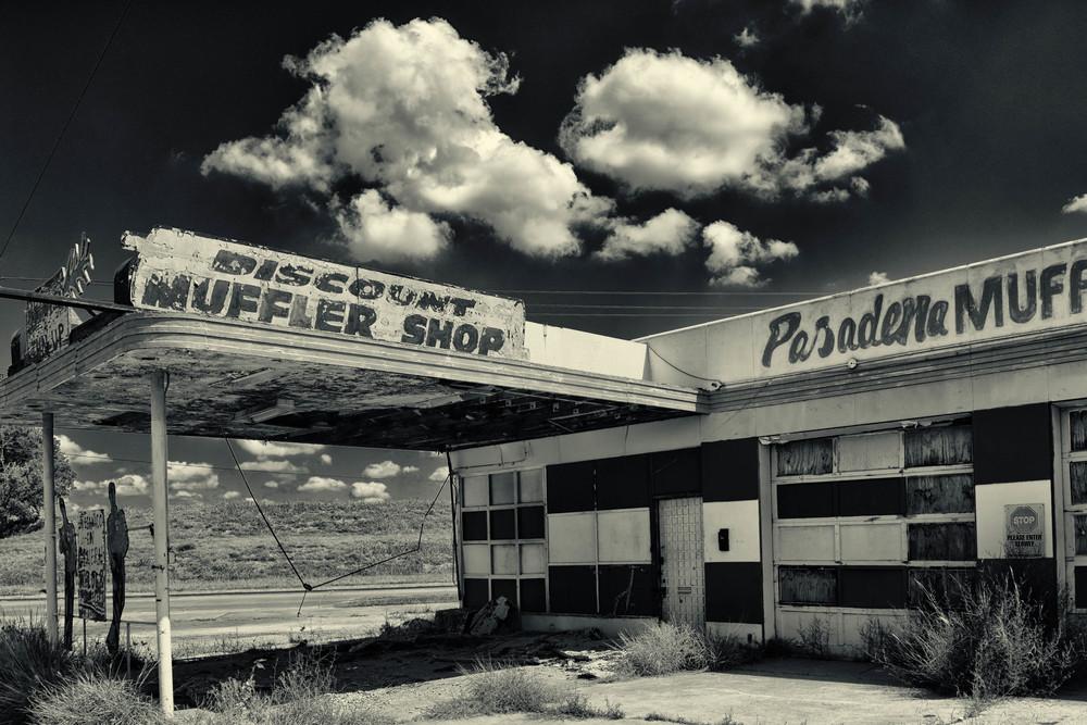 Alte Tankstelle, Texas