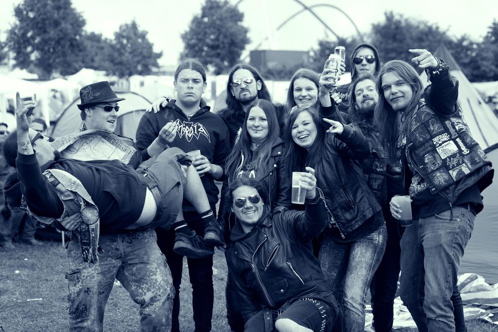 Mein Zeltplatzteam :)