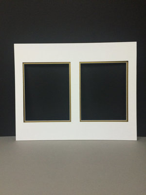 16x20 double picture mats for 2 8x10 pictures