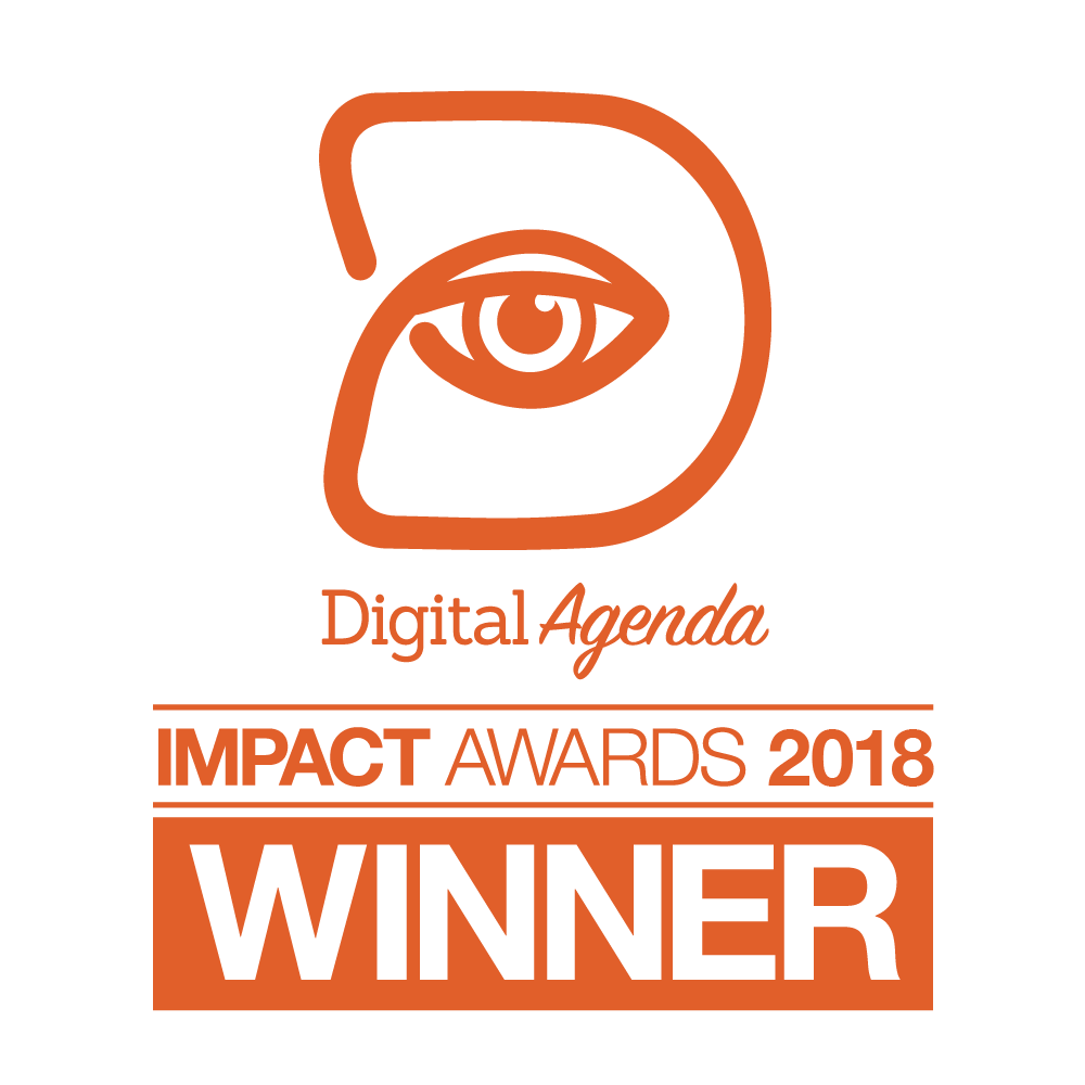 Digital Agenda Impact Awards 2018 - Winner
