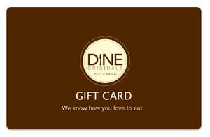 Group Gift Cards Dine Originals Columbus