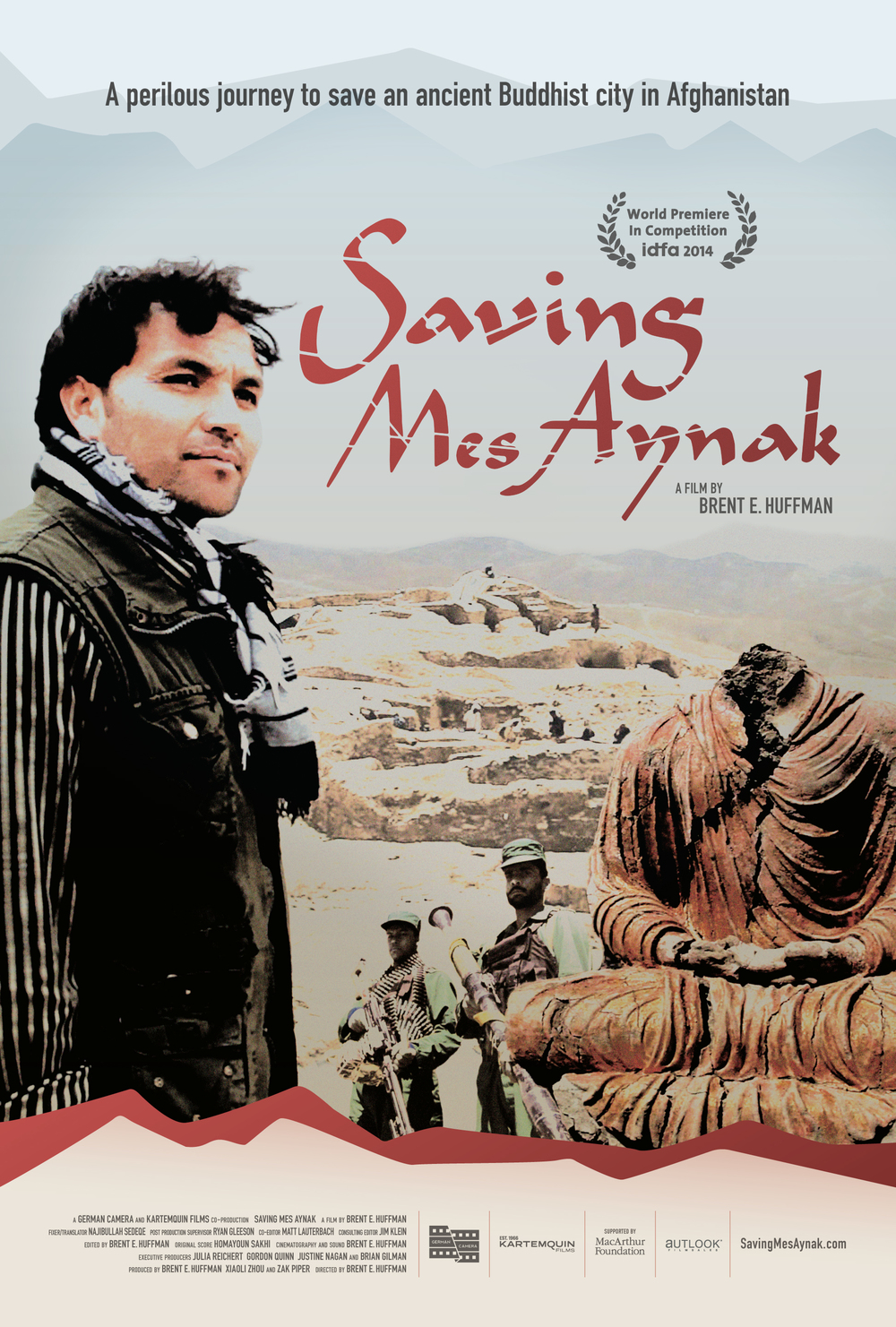 Saving Mes Aynak Official Film Poster