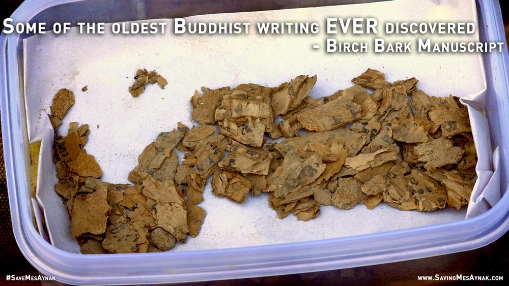 Birch Bark Manuscript