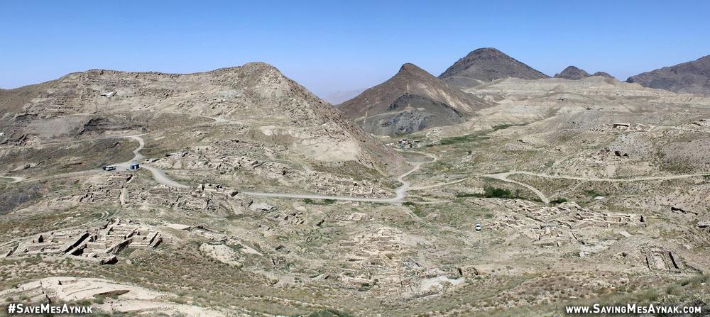 Mes Aynak, June 2015