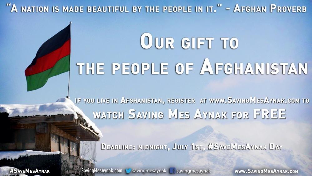 Saving Mes Aynak Afghanistan
