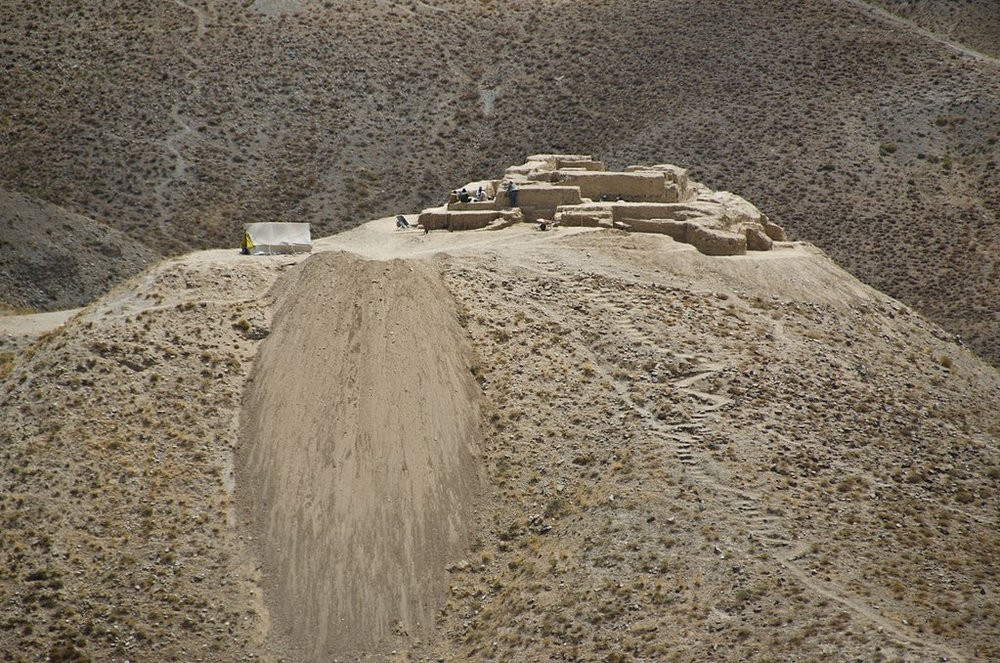 A recent photo of Mes Aynak. Photo by Didier Tais