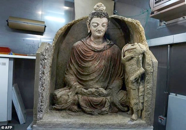 Pink Store Near Me >> Ancient, near-pristine Buddha from Mes Aynak revealed at Kabul Museum — Saving Mes Aynak