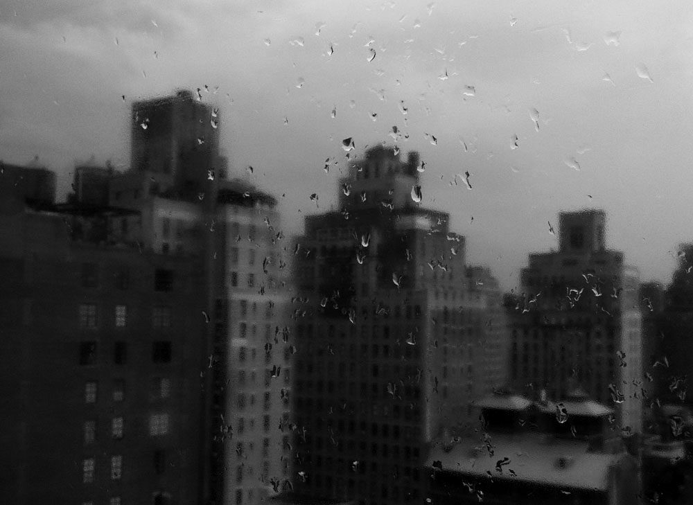 In a meeting room after rain Manhattan, NY June 2012