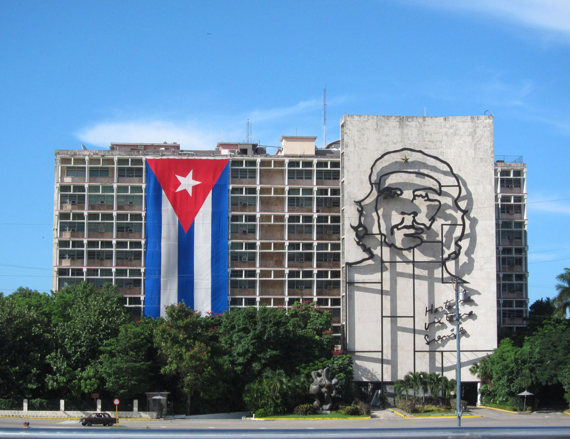 Plaza de la Revolución Havana, Cuba August 2013   Che's image is a real and lasting symbol of strength and unity which we saw regularly in Cuba. I would be lying if I said I didn't start to fall a little bit in love with him myself.