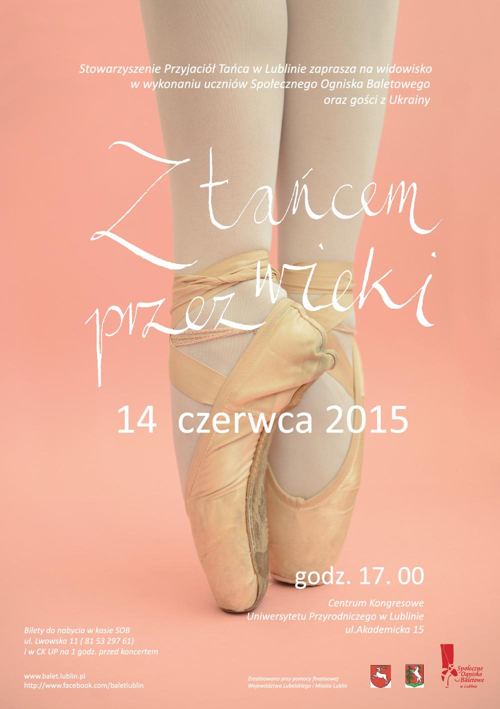 Koncert Roczny 2015 SOB plakat