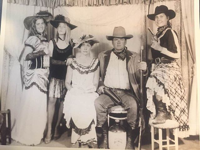 #tbt Growing up in Texas.  Can you tell which one I am in this old family photo? 🤠 . . #texas #halftexan #familyphoto #wildwest #throwback #memories #nostalgia #shotgun #whiskey #moonshine #texaspride #hookem