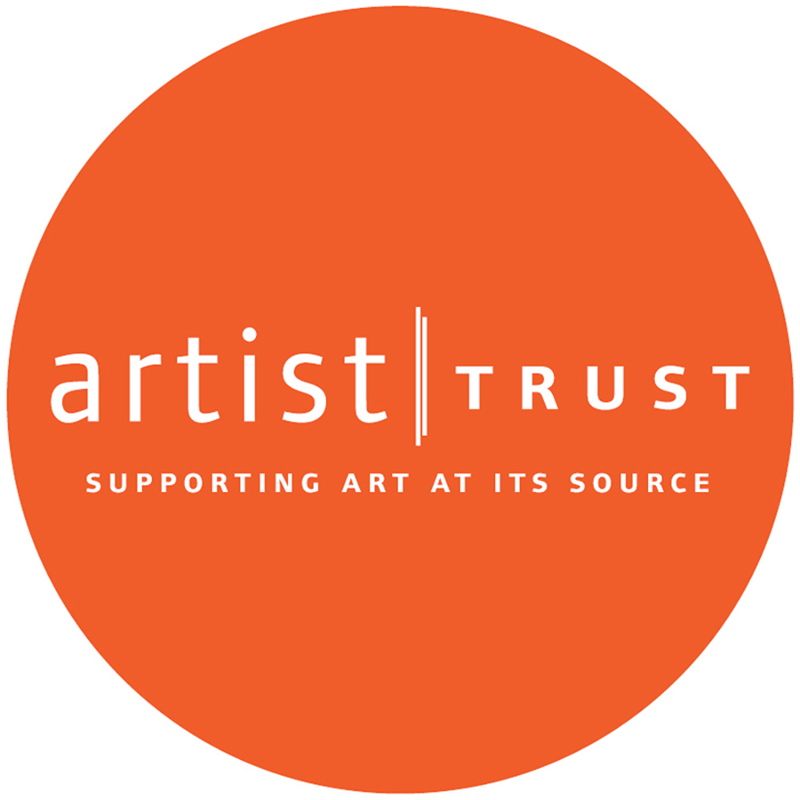 This project is supported in part by a GAP individual Artist Grant from Artist Trust.   Click here to visit:  artisttrust.org
