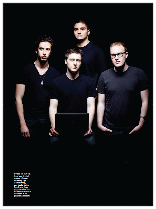The Anti-Facebook    How four young coders armed with Google technology will rock the social web with Diaspora   IEEE Spectrum , 2011