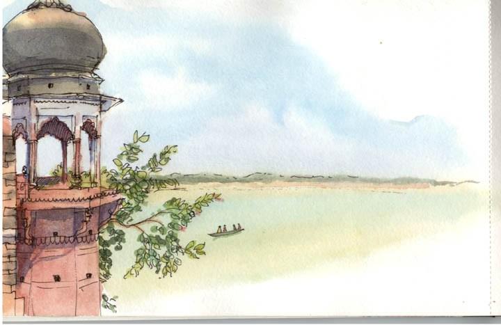 from my one of favorite watercolor artists, Prashant Miranda - prashart.blogspot.com