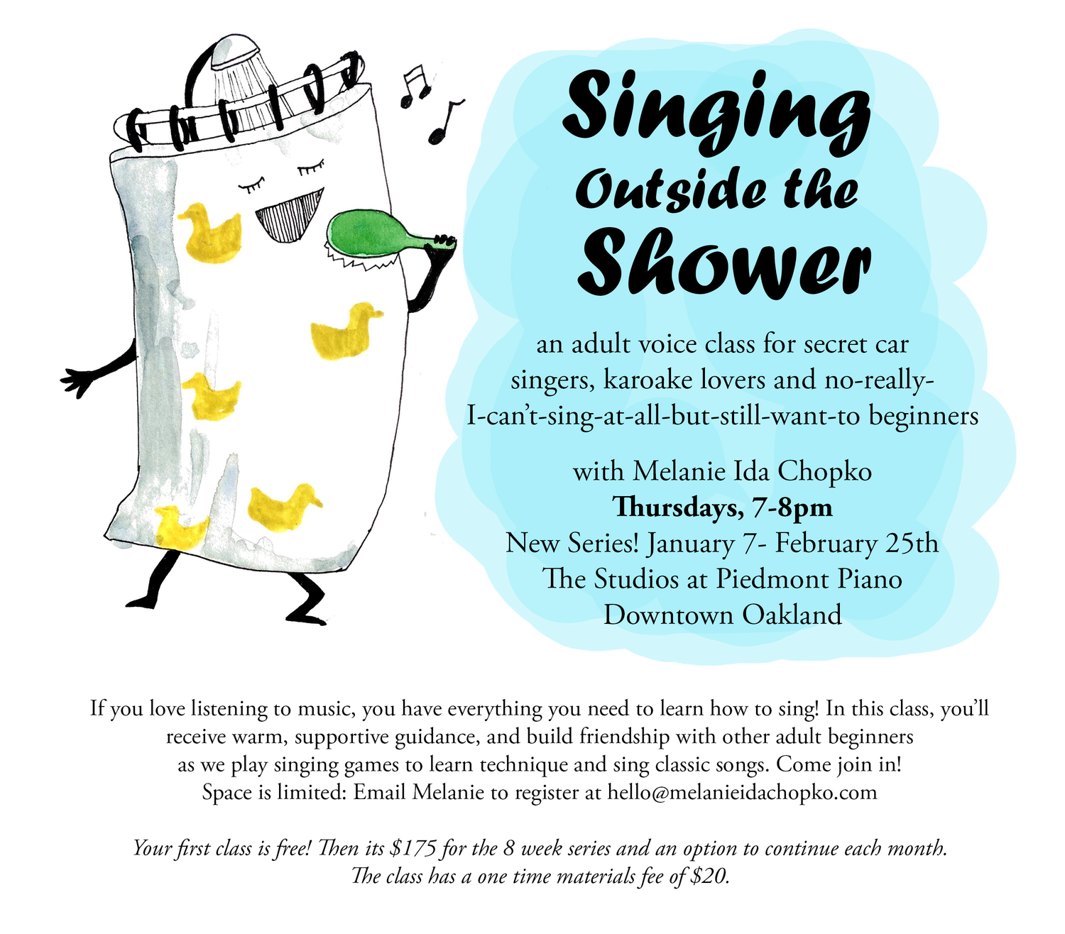 Creating Signers Form For Peion | New Series Singing Outside The Shower