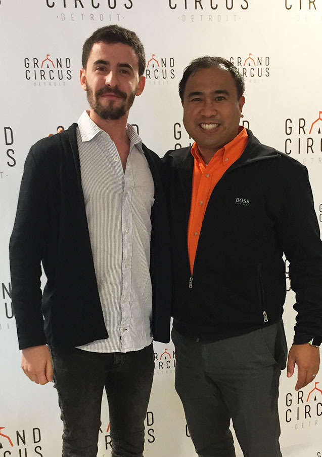 Ianir Sonis with CARROT CEO Michael Antaran.