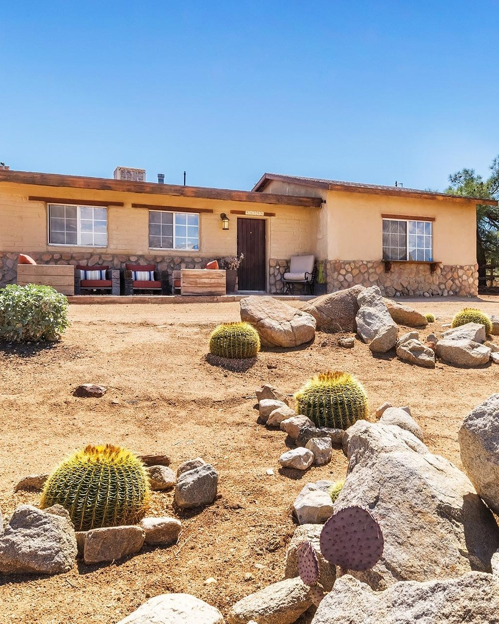 Golden Barrel Homestead Yucca Valley Rental High Desert