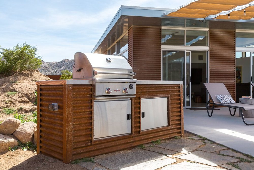 Barbecues - A propane (or natural gas if available) barbecue is a necessity at any vacation rental (we never recommend charcoal briquet barbecues). Propane barbecues can be as simple as a free-standing unit you purchase yourself or  a more elaborate, built-in one we can design and install for you.We prefer to connect all barbecues to the larger (200-gallons and up), truck-refilled tanks. We can economically make these connections for you.