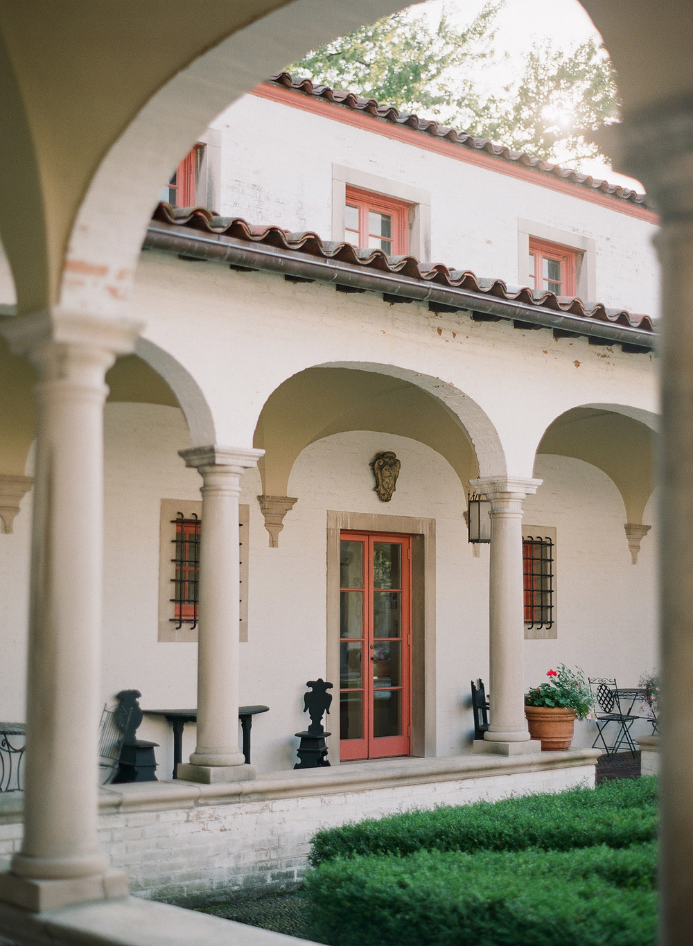 this italian villa is beautiful- The Villa Terrace is a favorite wedding venue of Destination Wedding Photographer Lexia Frank who shoots film at each wedding as she is a wedding film photographer