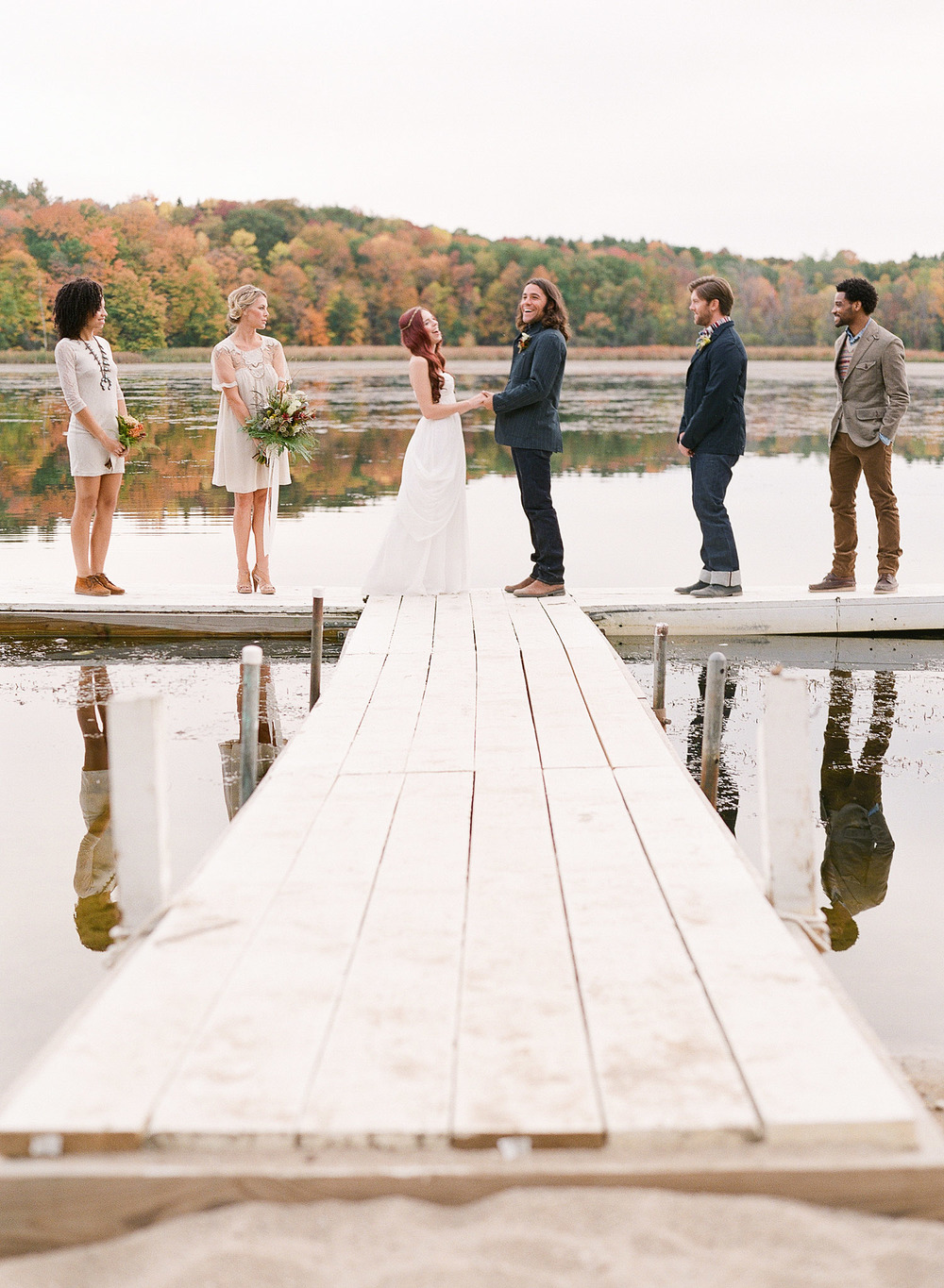 Lexia Frank is a destination wedding photographer and film photographer who shoots luxury weddings throughout the US and worldwide. Camp Wandawega wedding