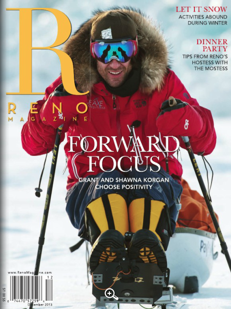 Beyond the Board —   Four ways to enjoy winter sans skis or snowboards /  Reno Magazine / March, 2014