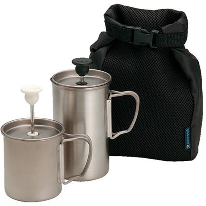 Coffee Essentials for the Trail —  The best coffee accessories for backpackers /  Outside Online / May, 2014