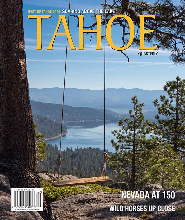 Take to the lake—  North-south water transit proposed for Lake Tahoe /  Tahoe Quarterly   / May, 2014