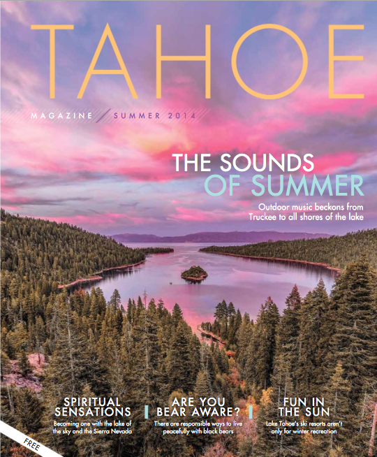 Summer Gear Guide—  The must-have gear for a great Tahoe summer /  Tahoe Magazine/ June, 2014