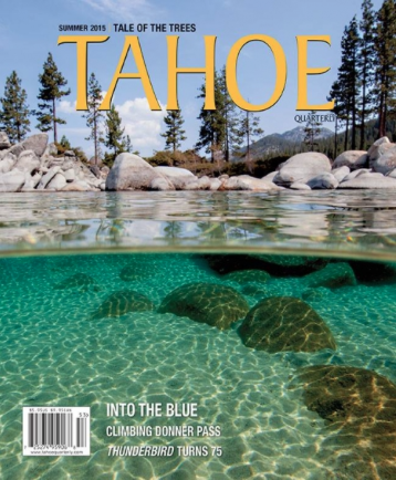 Cover Photo / Tahoe Quarterly / July, 2015