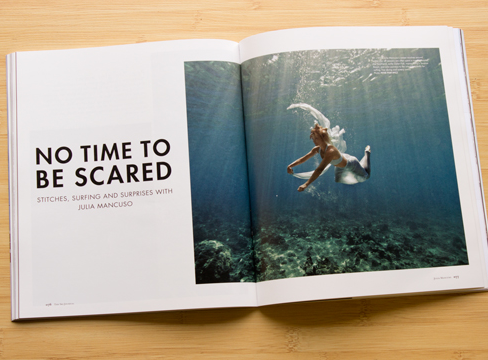 No Time to Be Scared /  Julia Mancuso profile /  The Ski Journal / January, 2016