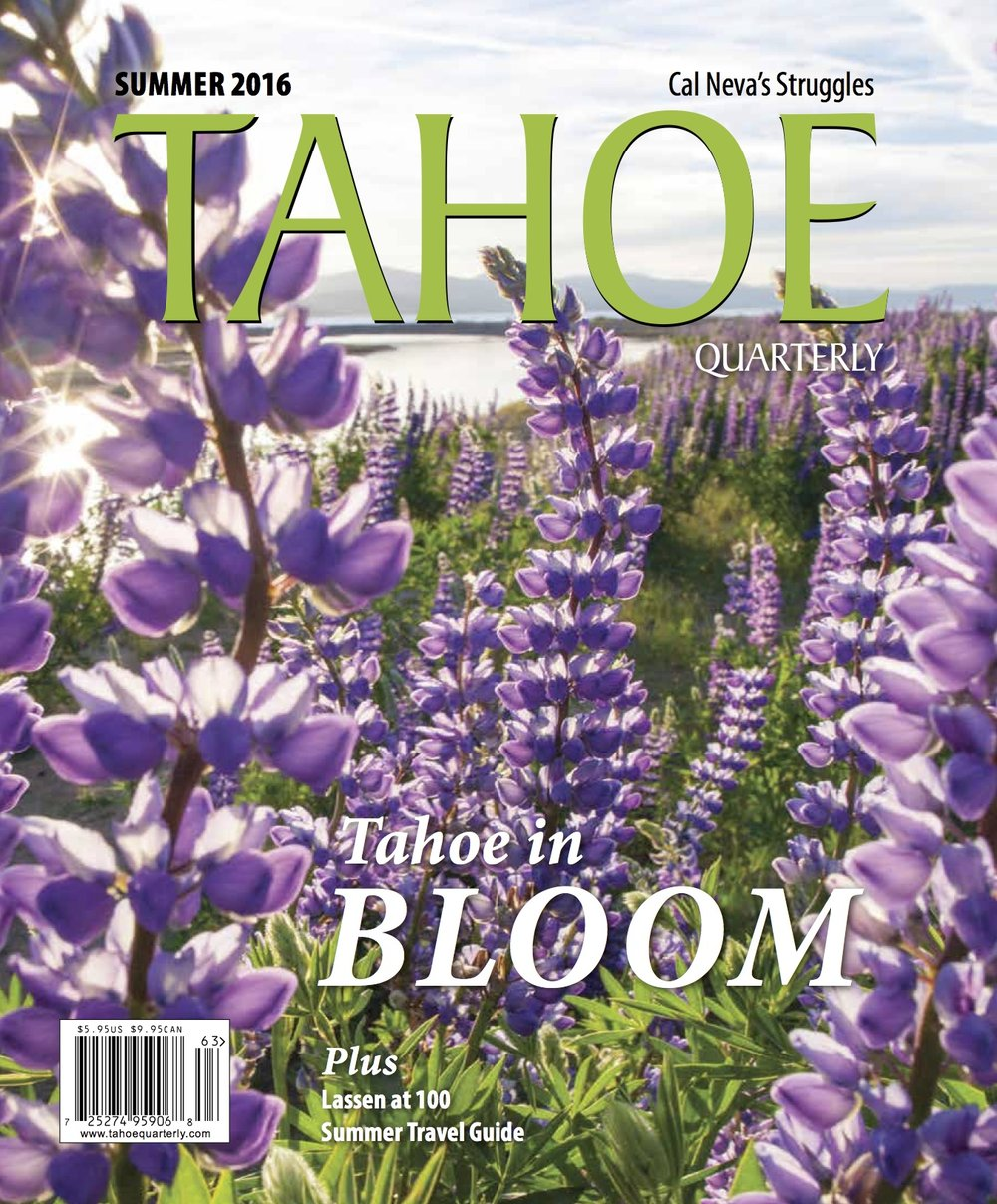 Tahoe Quarterly Cover Photo / July, 2016