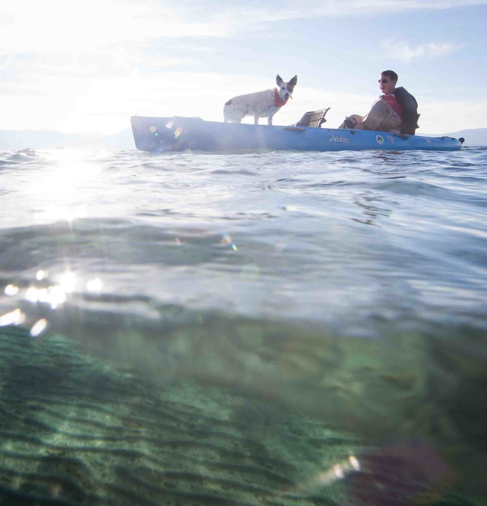 Tahoe's Top Kayak Trips/ Hobie.com/ September, 2016