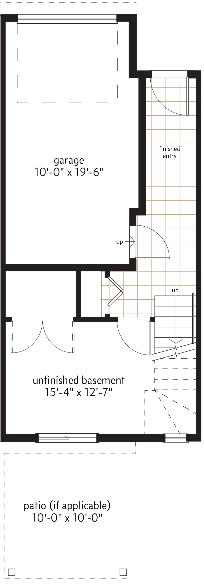 BASEMENT  |  104 SQ. FT.