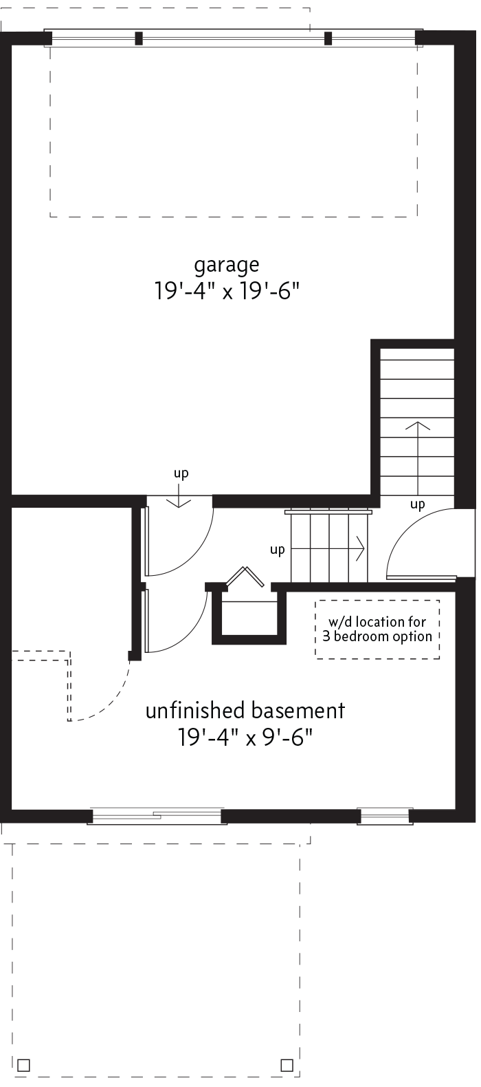 BASEMENT LEVEL  |  44 SQ. FT.